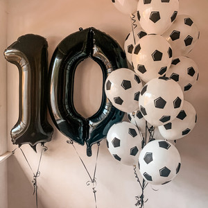 Numbers + Speciality Balloons
