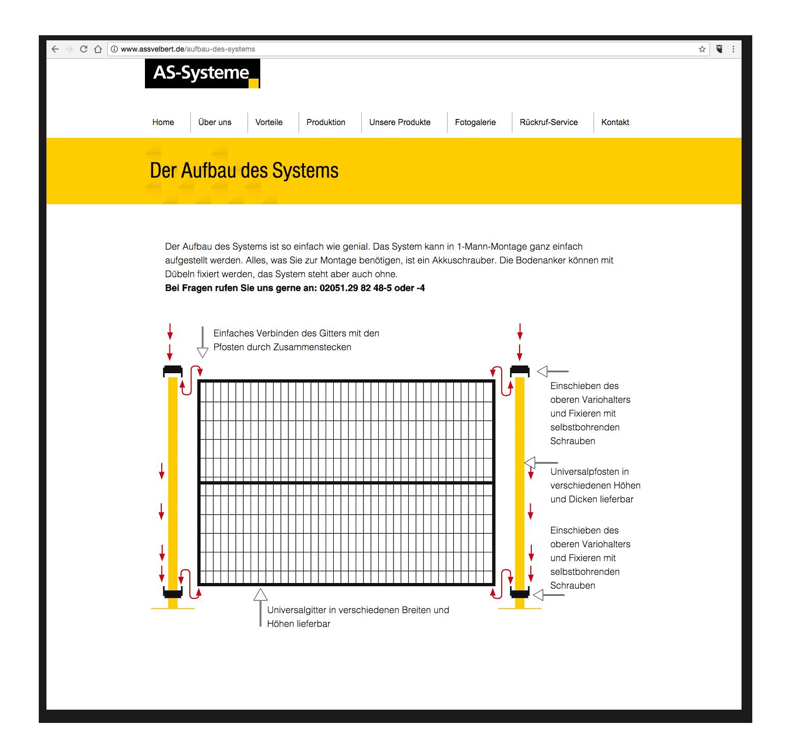 AS-Systeme - Aufbau