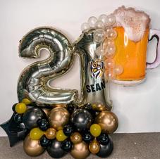 Beer Glass Double Digit Bouquet $180 ex gst