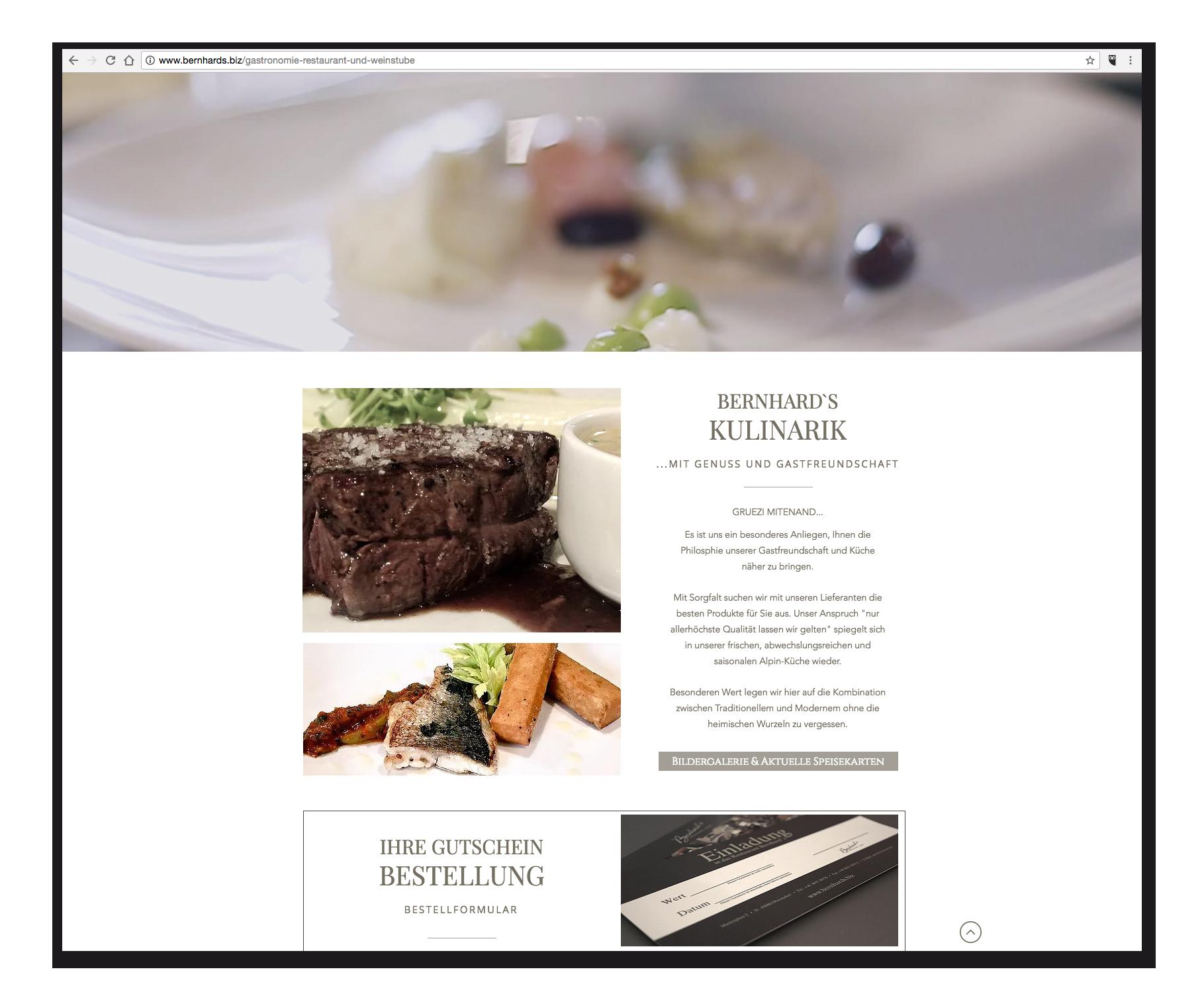 Bernhards - Gastronomie
