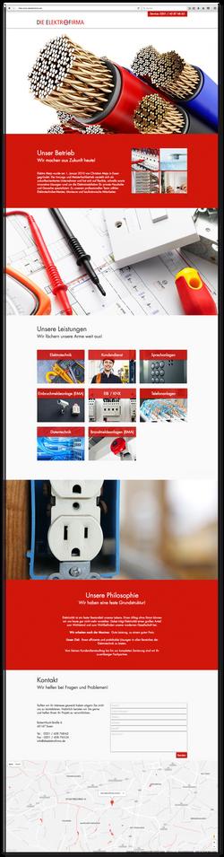 DieElektrofirma - Startseite