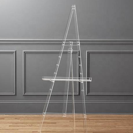 DisplaySignageEaselClearAcrylic150cm_200