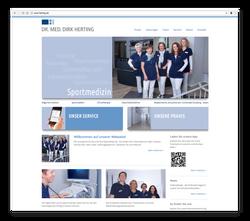 Praxis-Webseite - Startseite