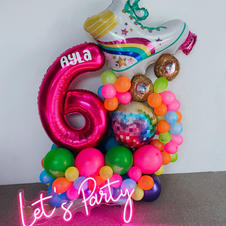 Rollerskate Disco Party Bouquet $195