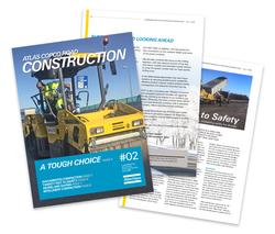 Road Construction Broschüre (Englisc