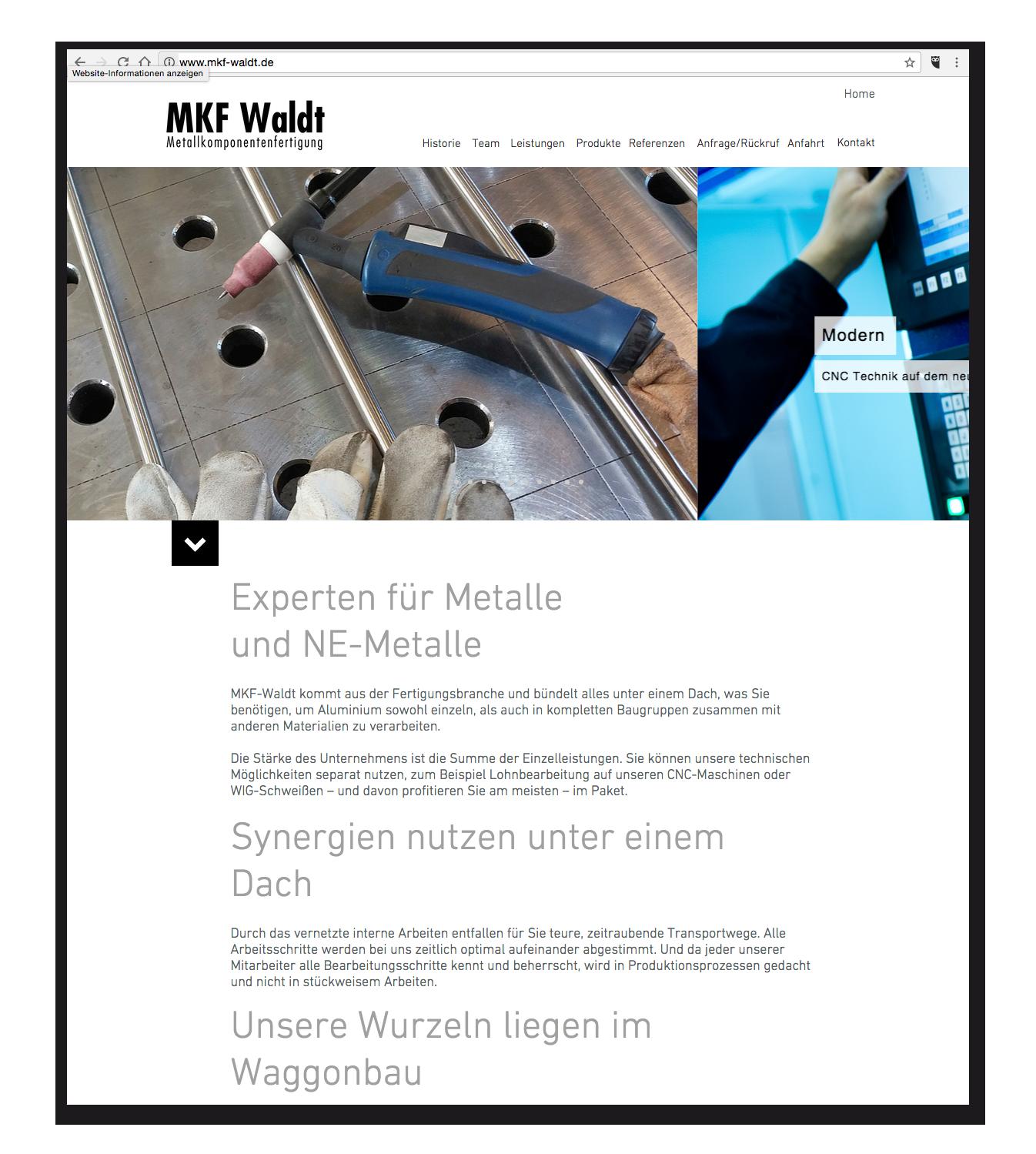 MKF-Waldt - Startseite