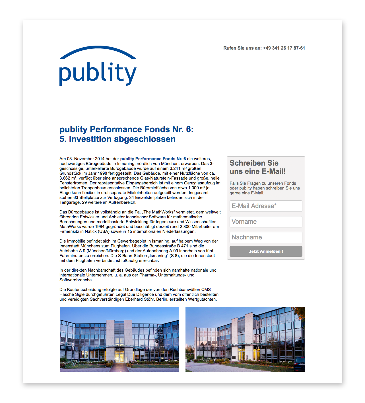 publity - Newsletter