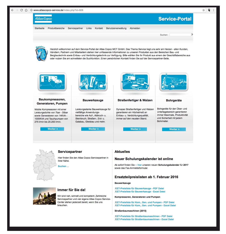 AtlasCopco-Service - Startseite