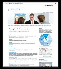 novum - Lexikon