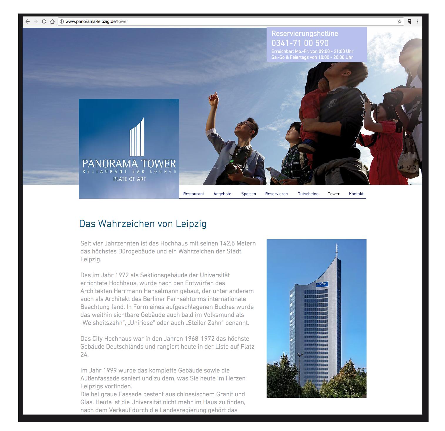 Panorama Tower - Wahrzeichen
