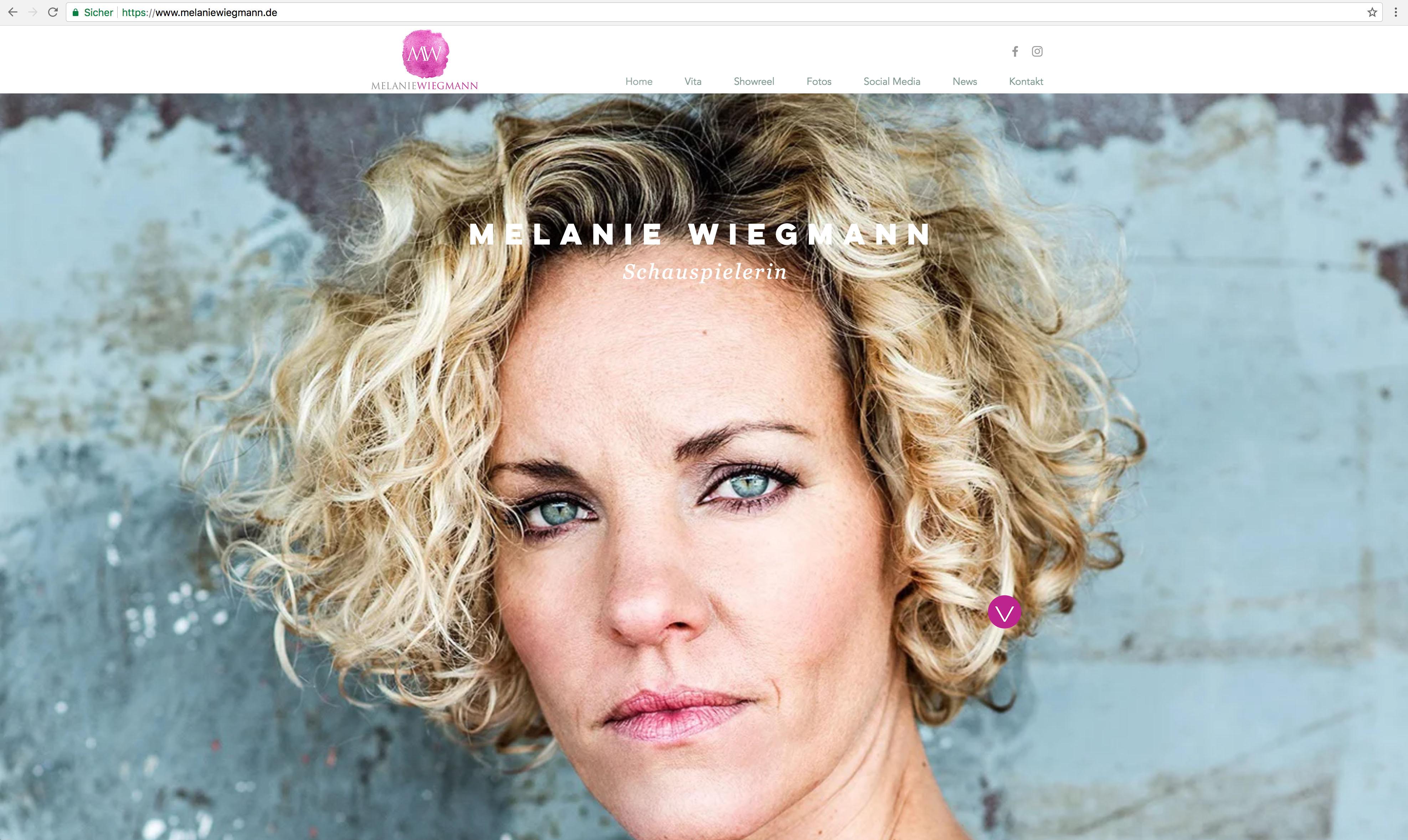 Melanie Wiegmann - Startseite