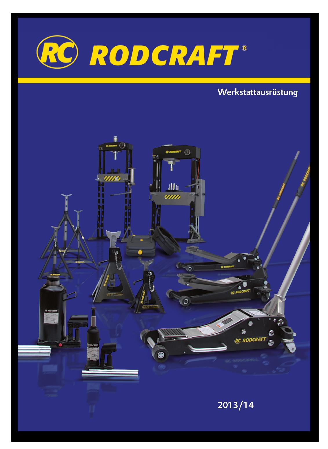 Katalog Werkstattausrüstung