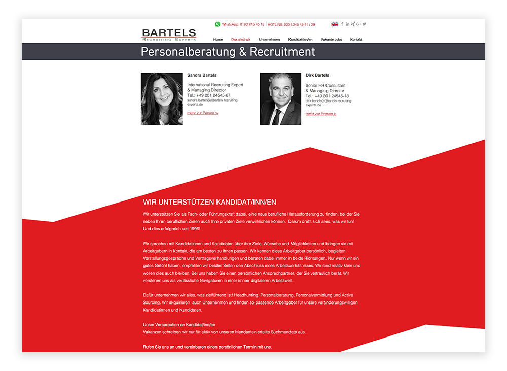 Bartels Recruiting Experts