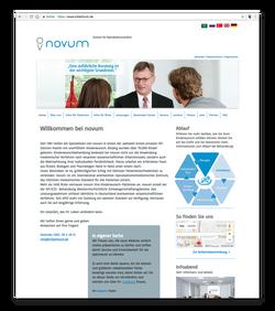 novum - Startseite