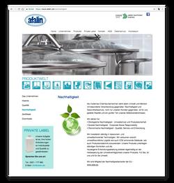afalin - Nachhaltigkeit