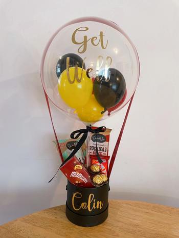 Small Bubble Balloon Hamper $77