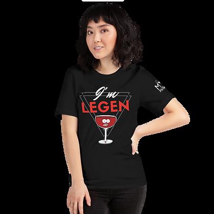 T-Shirt Unisexe - We are Legendary #1 (Noir)