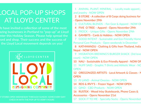 Local Pop-Up Shops At Lloyd Center