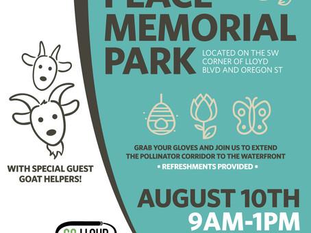 Help Beautify Peace Memorial Park