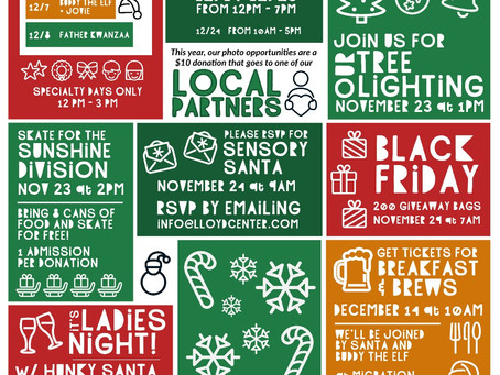Holiday Events At Lloyd Center