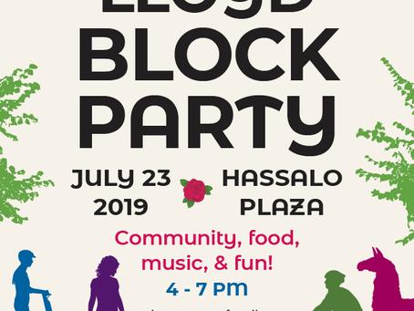 Lloyd Block Party