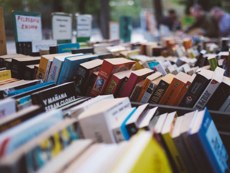 Spring Used Book Sale!