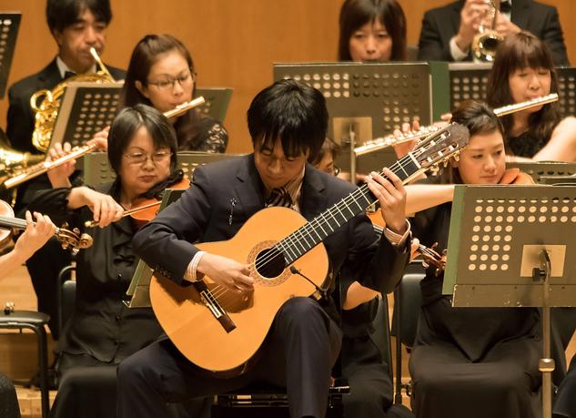 Yuki Osa in concert