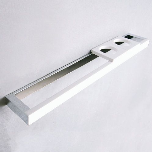 ROME - Towel Bar with Cup Holders