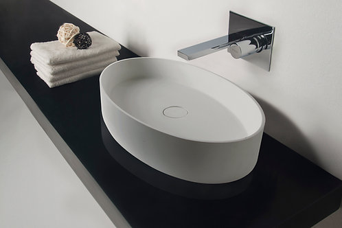 Super-thin Edge Washbasin - Oval