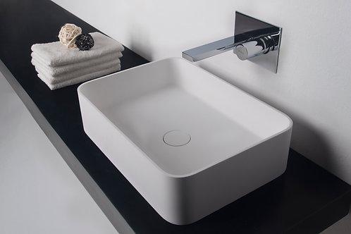 Super-thin Edge Washbasin - Rounded Rectangle