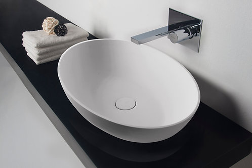 Super-thin Edge Washbasin - Oval