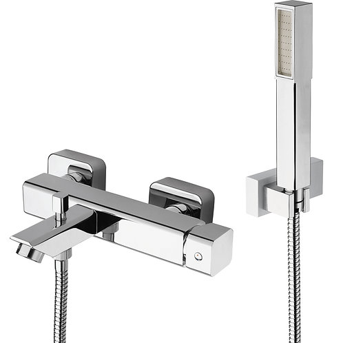 QUARK Bath Mixer with Shower Set