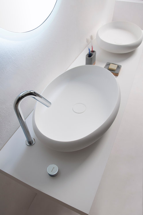 Ardea Over-countertop Oval Basin