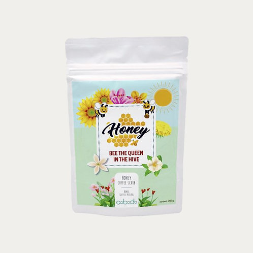 PREMIUM BODY SCRUB KAFFEE PEELING - HONEY