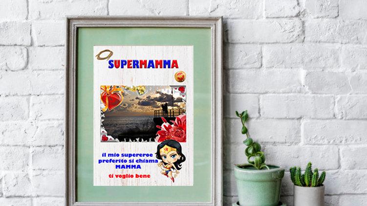 QUADRETTI PER LA MAMMA supereroe