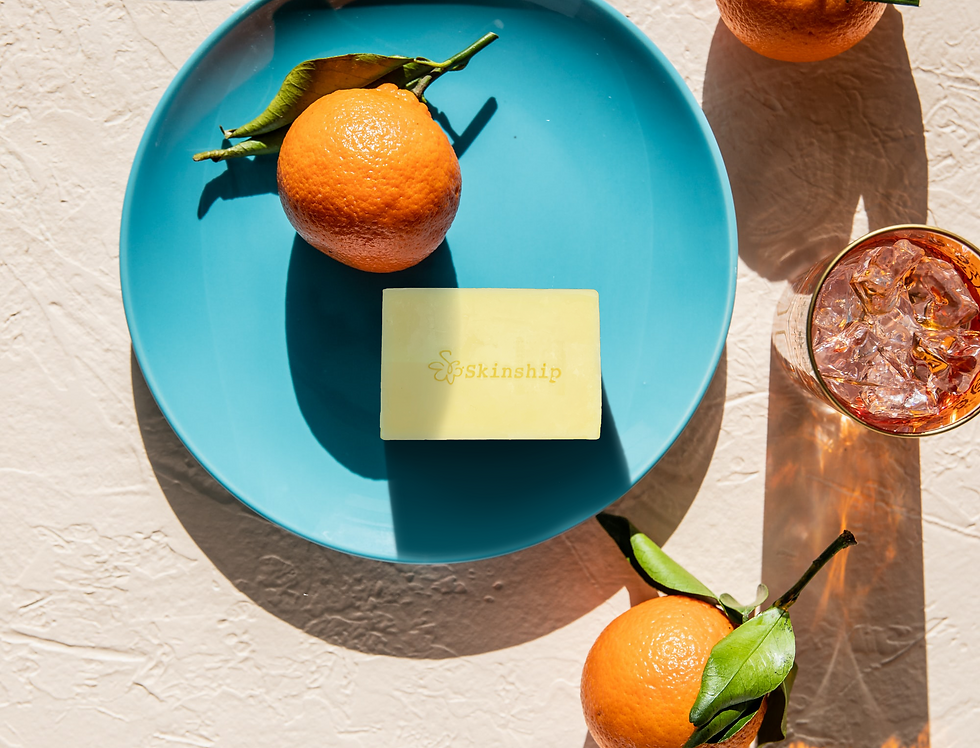 Sweet Orange Enzyme Soap Bar (Regular Size)