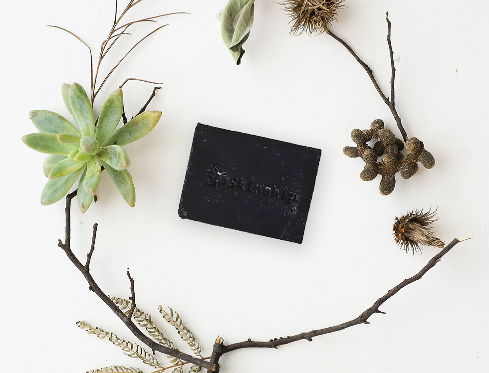 Activated Bamboo Charcoal Enzyme Soap Bar (Regular Size)