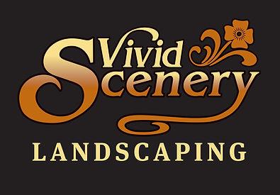 Vivid Scenery Landscaping Logo - Black.j
