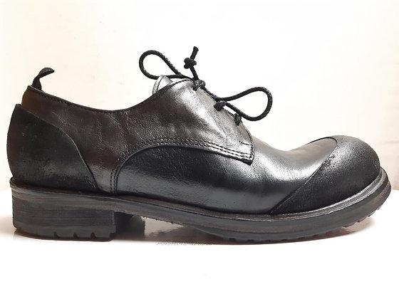1725.a-ის თასმიანი ფეხსაცმელი DAVIS NERO/MOSS