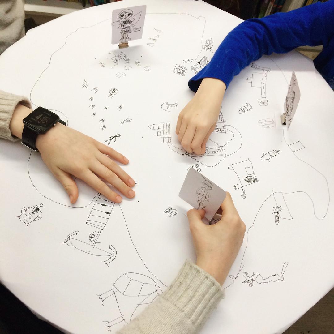 Quick Draw Stories World Creation