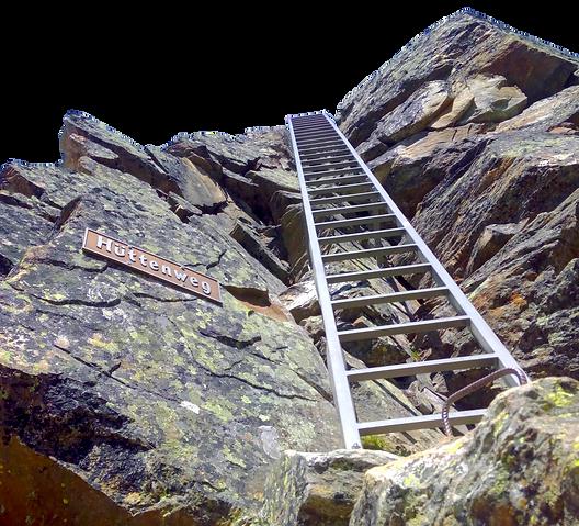 Hüttenweg Mischabelhütte