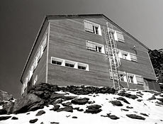 Sanierung der neune Mischbelhütte