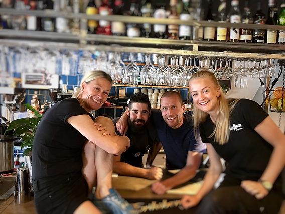 Jennie, Stelios, Erik & Martina