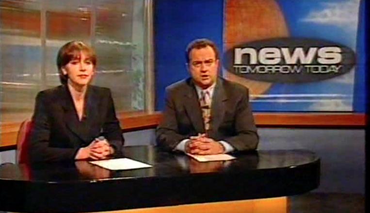 "Newsreader on ""McPhail & Gadsby"""
