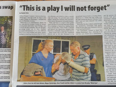 Blind Eye, Offbeat Theatre review
