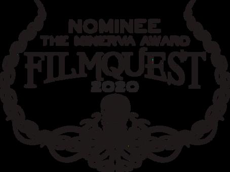 FilmQuest Minerva Award nomination