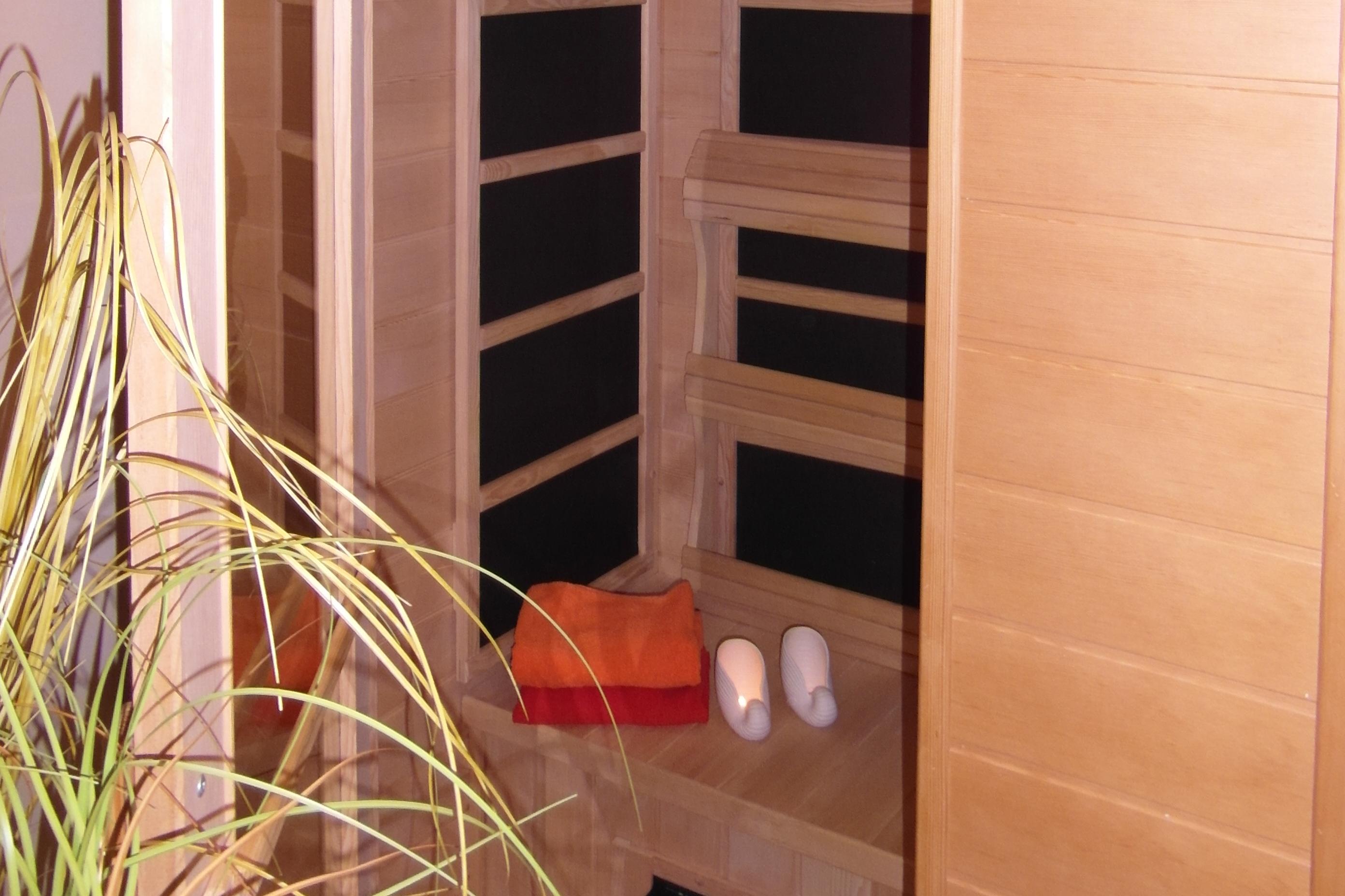Ihre private IR-Sauna