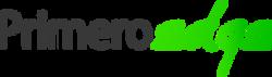 PrimeroEdge Logo (Black and Green)