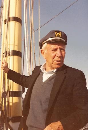 Dr. Lowen sailing