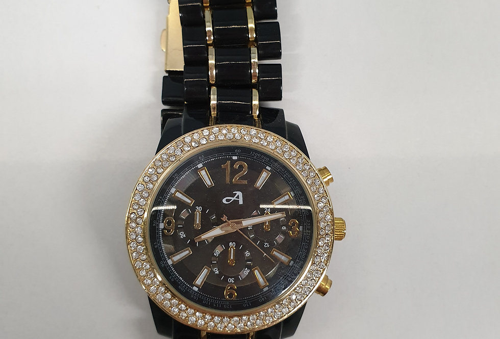 Horloge Diamond Black